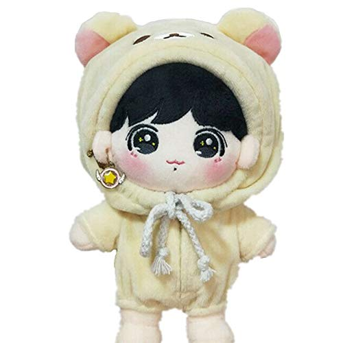VogueMing Kpop EXO BTS Jimin Jungkook SUGA Doll's Clothes Coverall Sailor Suits【no Doll】 (B-Rilakkuma Coverall)]()