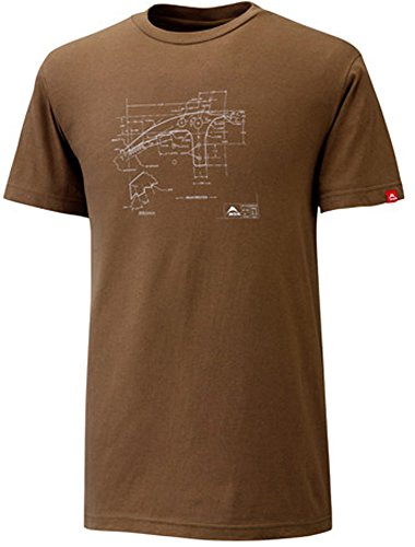 MSR Thunderbird Ice Axe T-Shirt, Small, Brown