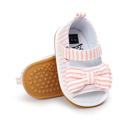 Toddler Girls Sandals, Baby Boys Girls Prewalker Rubber Sole Non-Slip Outdoor Summer ()