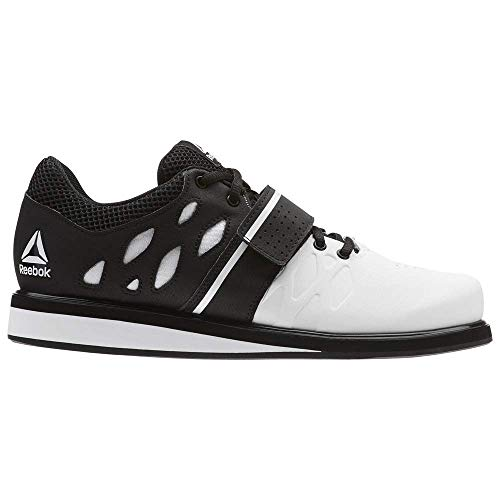 Reebok Men's Lifter PR Cross Trainer, White/Black, 6.5 M US
