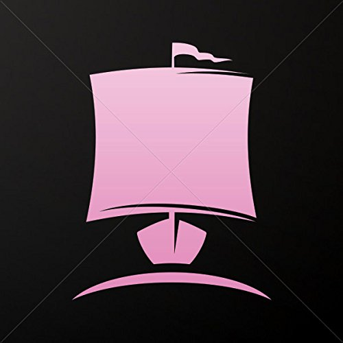 Decals Decal Ancient Greek Ship Triiris Tablet Laptop Weatherproof Spo Pink (20 X 15.5 In)
