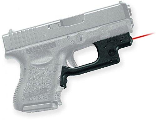 Crimson Trace Red Laserguard for Glock - 5mW - LG-436