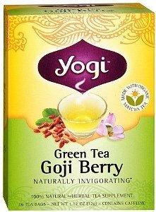 Thé vert Goji Berry - Marque: Yogi Thés organiques