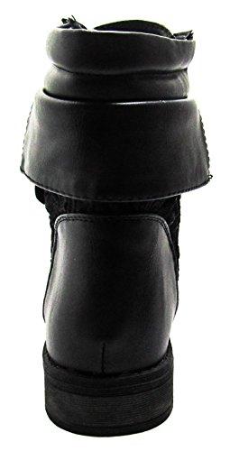 Sevilla 66 Black D US boots Forever M 6 Womens R5qAB