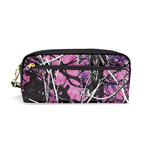 Multifunction Durable Cosmetic Bag Pink Camo Pencil Bag Pouch Bag Case Makeup Bag ()