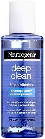 Fluído Bifásico Demaquilante Deep Clean, Neutrogena, 117ml