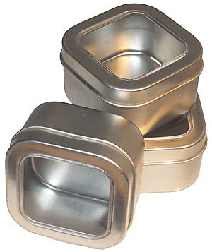 Empty Tin, 8 oz (JUMBO), PACK OF 6, with Coupon Code