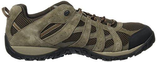Columbia Mens Redmond Hiking Boot Cordovan, Zenzero Scuro