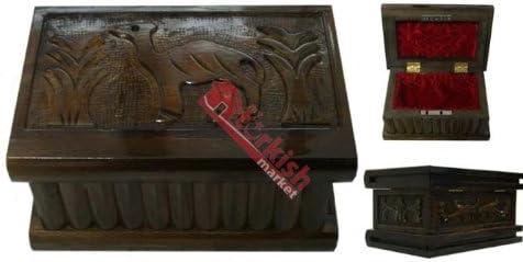 Turco caja de Puzzle, Magic caja – Joyero – caja secreta – Puzzle de madera caja – regalo de Navidad...: Amazon.es: Hogar