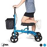 Best Knee Walkers - OasisSpace Steerable Knee Walker | Economy Knee Scooter Review