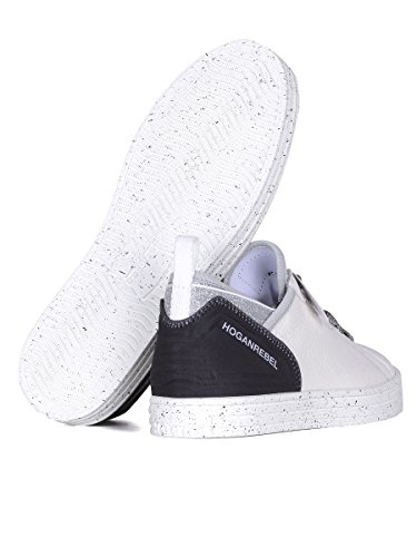 Hogan Rebel Sneakers Donna HXW1410X050FJK0351 Pelle Bianco