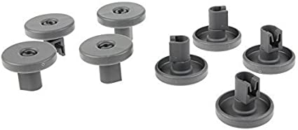 Cesta de 8 ruedas compatible con AEG, Electrolux, Zanussi, Tricity ...