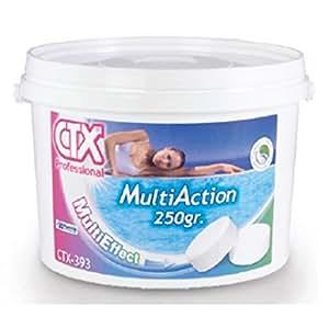 CTX–Cloro Multi acción–Anti algas–floculant–5kg, rueda 250g–Pro