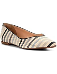 Sapatilha Shoestock Bico Fino Recorte V Feminina