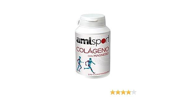 Amlsport Colageno con Magnesio - 270 comprimidos: Amazon.es: Alimentación y bebidas