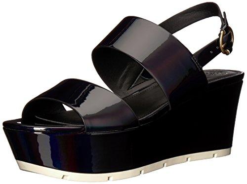 Guess Women's Kaelan Wedge Sandal Black