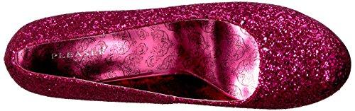 Col Rosa Scarpe 06gw Pleaser Glitter Punta Teeze Tacco Hpg Pink h Chiusa Donna 8qgqcyt6