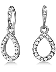 Mestige Women Glass Harley Earrings with Swarovski Crystals