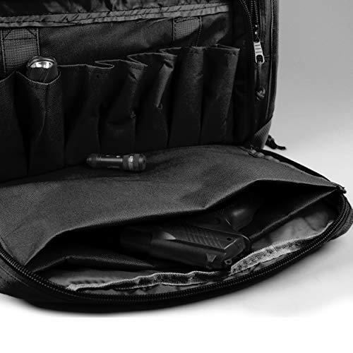 4d3d5cbed4c0 Osage River Tactical Shooting Gun Range Bag (Black, Standard (18 x 13 x 10)  Inches)