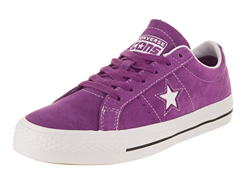 (Converse Unisex One Star Pro Ox Icon Violet/White/White Skate Shoe 4.5 Men US / 6 Women US)