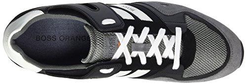 Boss Orange Men's Adrenal_Runn_mx 10197240 01 Low-Top Sneakers Grey (Open Grey) 5084wKvA