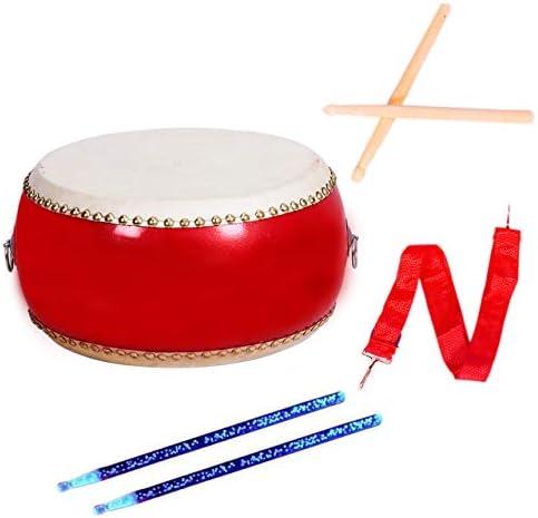 [スポンサー プロダクト]nullie 太鼓 練習 キッズ パーカッション 小太鼓 ライトスティック付き 3点セット