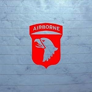 Wall car window decal die cut helmet macbook for 101st airborne window decals