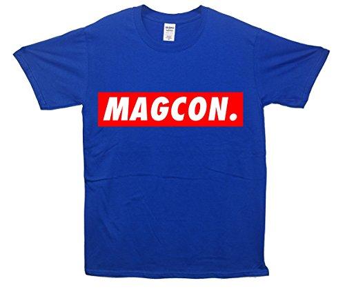 Magcon. T-Shirt - Blau - Medium (96cm-102cm)