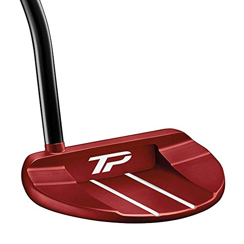 TaylorMade Golf Tour Preferred Red Collection Ardmore #7 Super Stroke 34 IN Putter, Right Hand