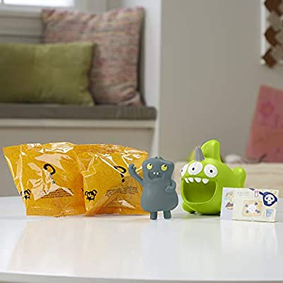 UGLYDOLLS BABO & Squish &-Go Sharwhal, 2 Toy Figures with Accessories: Toys & Games