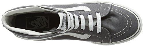 Grigio Adulto – De hi Unisex Blanc Sk8 Blanc Vans Castlerock Ginnastica Alte Slim Scarpe da CUvnST
