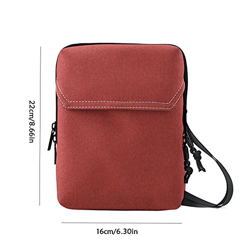 funda Unisex Overseas One Card de Hanging Pretty Wallet Flight capacidad Neck para gran Shoulder Travel documentos Jin de Orange Passport la Funda Storage Rot de Bag Paquete wxYSOISqaR