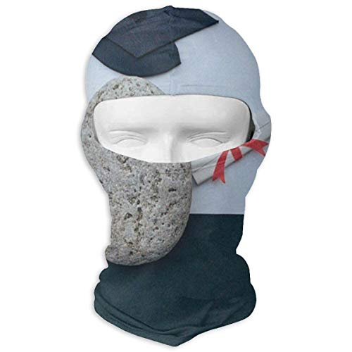 Balaclava Stone Hat Picture Full Face Masks UV Protection Ski Cap Womens Snowboard for ()
