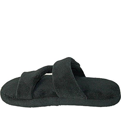 Zapatillas Dawgs Mujeres Fluffy Z Flat Black