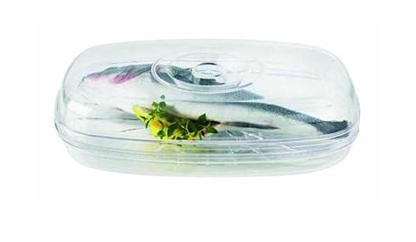 sefama 104794 - Recipiente de microondas para cocinar Pescado (29 ...