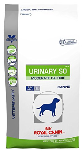 Royal Canin Urinary SO Moderate Calorie Dry Dog Food 7.7 lb bag