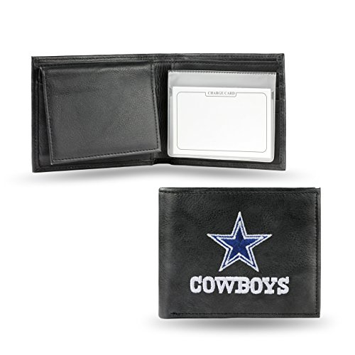 Dallas Cowboys Embroidered Leather Billfold Dallas Cowboys Embroidered Leather