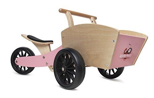 Kinderfeets B078BQ4S6L Cargobike Kids Wooden Balance Bike Pink Wooden Bike [並行輸入品] B078BQ4S6L, 味千拉麺 通販事業部:ed3f37c5 --- hasznalttraktor.e-tarhely.info