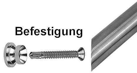 Set 1802 Sto/ßgriff-L/änge 1600mm Edelstahl Haust/ür Beschlag