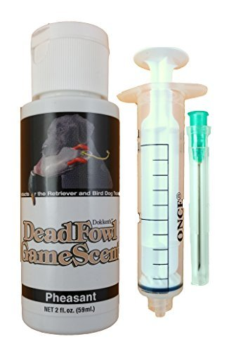 Dokken Dead Fowl Pheasant Scent Kit 2oz Retriever Hunting Dog -