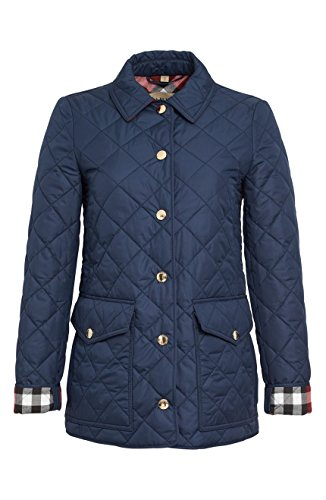 Burberry Westbridge Navy Quilted Jacket (S) (Burberry Quilted Jacket)