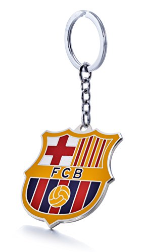 REINDEAR Offical Soccer Football Club Team Logo Metal Pendant Keychain US Seller (FC Barcelona) (Football Barcelona Club)