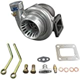 GT35 T4 Turbo Charger Anti-Surge 500+ HP + Oil Fitting