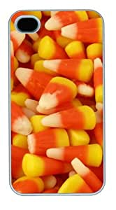 Candy Corn8 PC Case Cover for iPhone 4 and iPhone 4S White