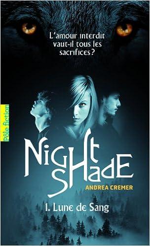Livre Nightshade (Tome 1-Lune de Sang) pdf, epub ebook