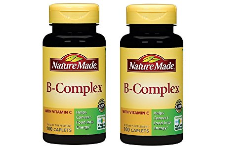 - Nature Made B-Complex with Vitamin C, 100 Caplets (Pack of 2)