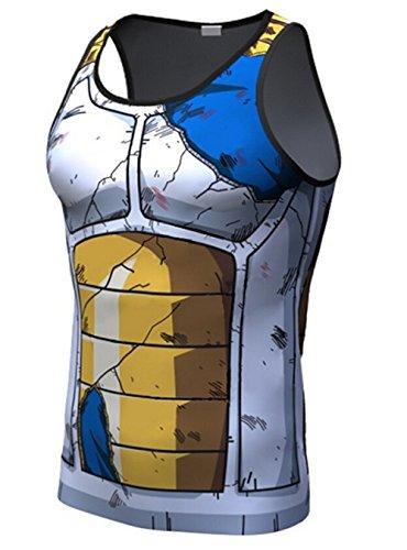 Mens-3D-Novelty-Lycra-Compression-Shirt-Skin-Tight-Shirt-Vest-ShortLong-Sleeve-Shirt