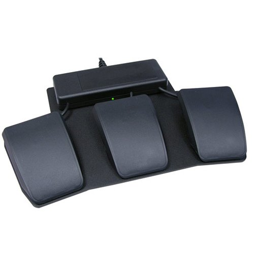 KINESIS FS007TAF Triple-Action Foot Switch for Advantage Keyboards