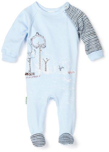 Kushies Baby Newborn It's My Planet Organic Sleeper, Blue, 9 Months