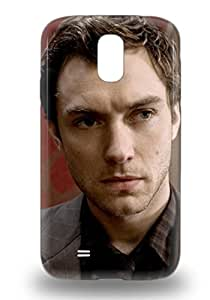 Tpu 3D PC Case For Galaxy S4 With Jude Law The United Kingdom Male Sherlock Holmes ( Custom Picture iPhone 6, iPhone 6 PLUS, iPhone 5, iPhone 5S, iPhone 5C, iPhone 4, iPhone 4S,Galaxy S6,Galaxy S5,Galaxy S4,Galaxy S3,Note 3,iPad Mini-Mini 2,iPad Air )
